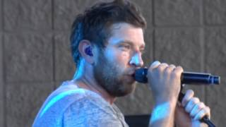 "Brett Eldredge, ""Wanna Be That Song"", Klipsch Music Center, Indianapolis, 6/4/16"