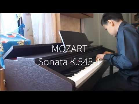 mozart sonata k545
