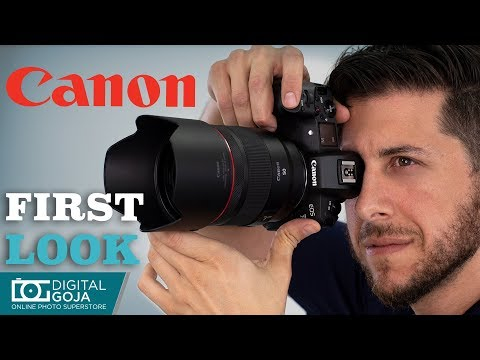 First Look at Canon RF 50mm f/1.2L USM Lens | Review