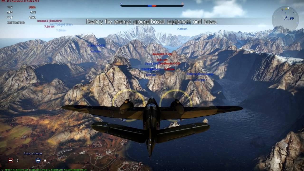 Plane Fighting Games >> War Thunder Best Plane Game Ever