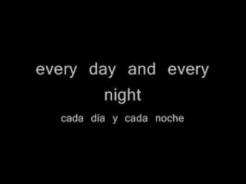 Letra de one love en ingles y español