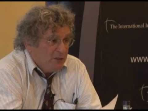 Israel's Security  And The Arab Spring -   Professor Benny Morris