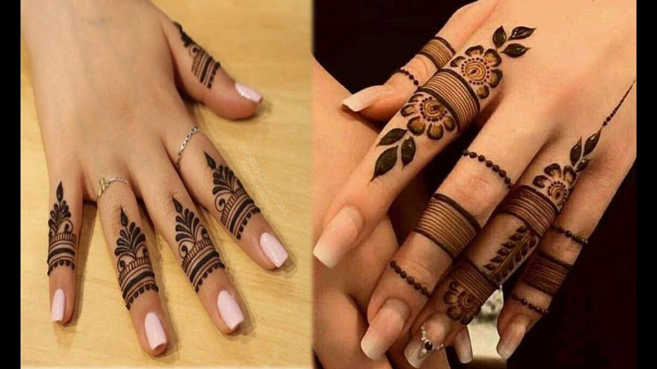 mehndi finger designs 2019 new style