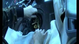 чистка сеточки бензонасоса Volvo XC70 2006