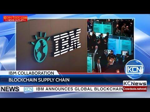 Major companies involved in IBM's blockchain cooperation