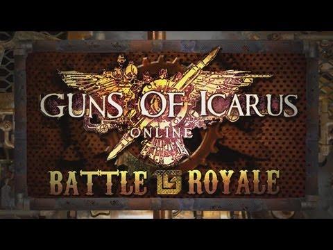 Guns of Icarus Battle Royale! Angry Joe POV