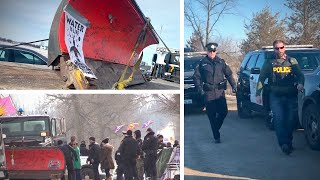 RCMP finally remove railway protesters from Belleville blockade | David Menzies