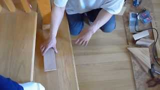 Hardwood Floor --part 4: How To Stair And Handrail (spiral Curved)
