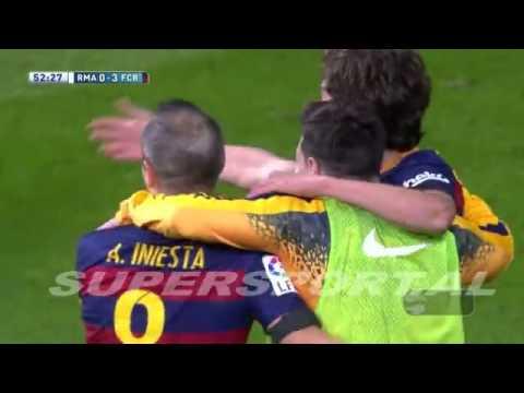 Real Madrid 0 - 4 Barcelona | Full Match Goals & Highlights | Supersport