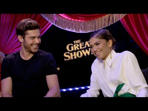 Zac Efron, Zendaya and Hugh Jackman interview - THE GREATEST SHOWMAN