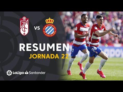 Resumen De Granada CF Vs RCD Espanyol (2-1)