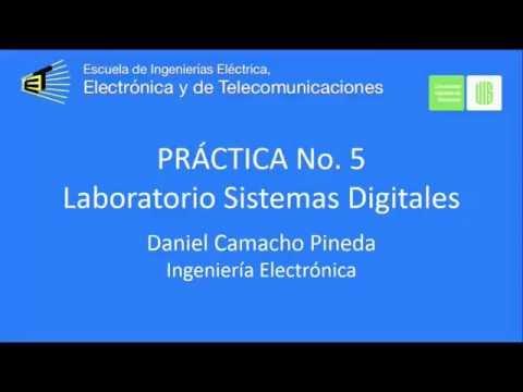 Práctica 5 - Decodificador 7 Segmentos - Lab. Digitales I
