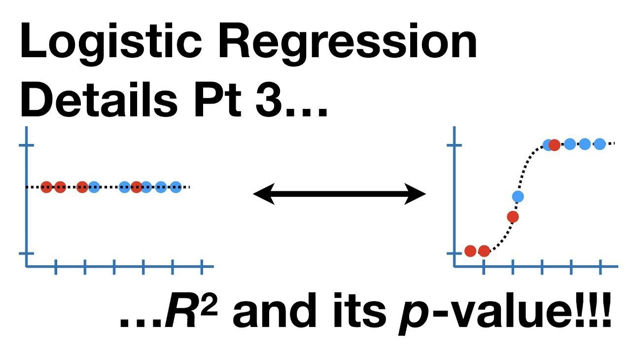 Logistic Regression Details Pt 3: R-squared and p-value