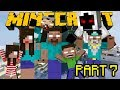 If Herobrine had a Family - Minecraft Part 7