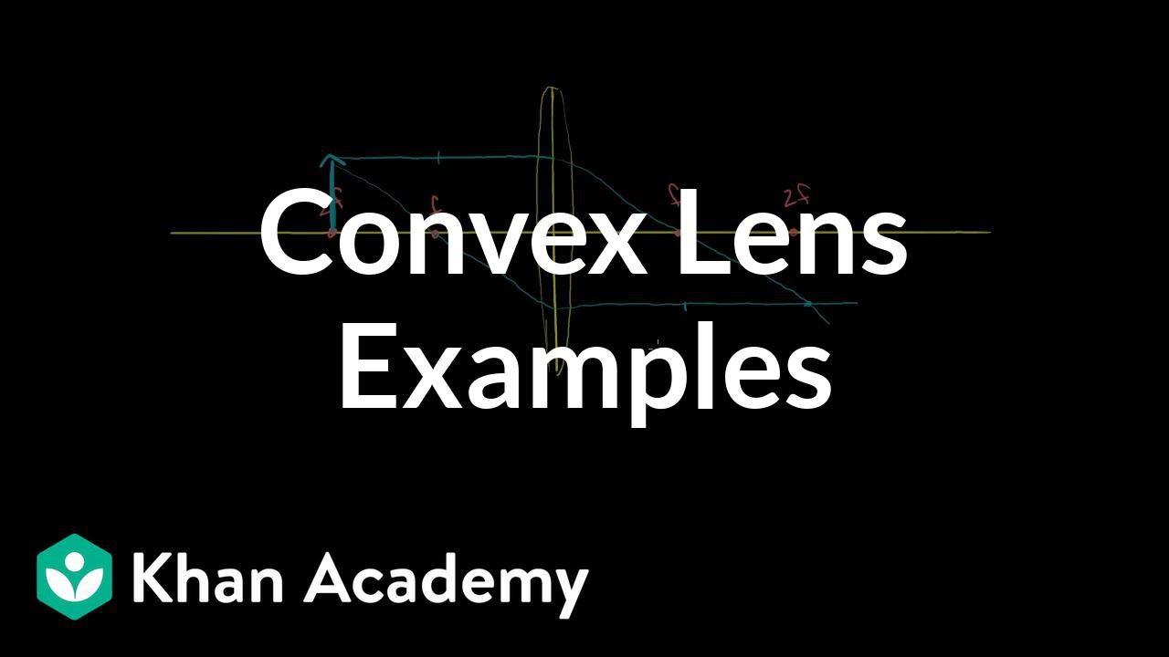 Convex lens examples (video) | Lenses | Khan Academy