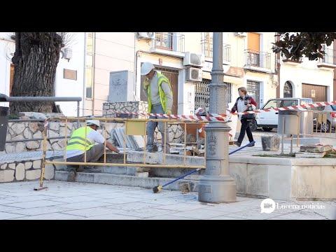 VÍDEO: El ayuntamiento destina 36.000 euros a la mejora del pavimento en el Llanete de San Juan de Dios