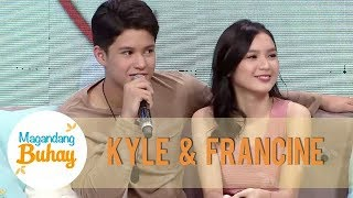Francine and Kyle honestly answer the questions from their fans | Magandang Buhay