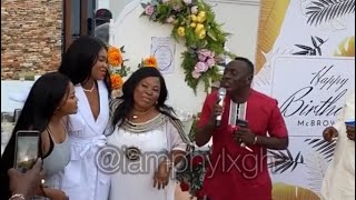 Akrobeto Surprise Nana Ama Mc Brown With A happy Birthday Song Performance