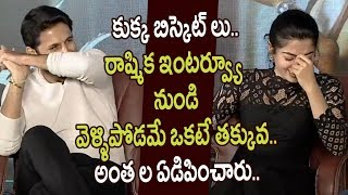 Bheeshma Movie Team Hilarious Interview || Rashmika, Nithin, Vennala Kishore - Telugu Tonic