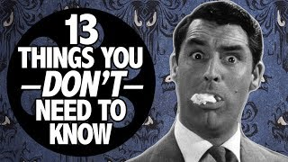 Arsenic And Old Lace: 13 Things You Don't Need to Know