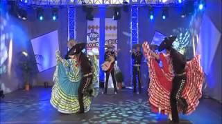 Mariachis en Barcelona - Jarabe Tapatío - México Folclórico en Fuengirola TV 2012