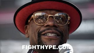MAYWEATHER WARNS MCGREGOR ABOUT HIS