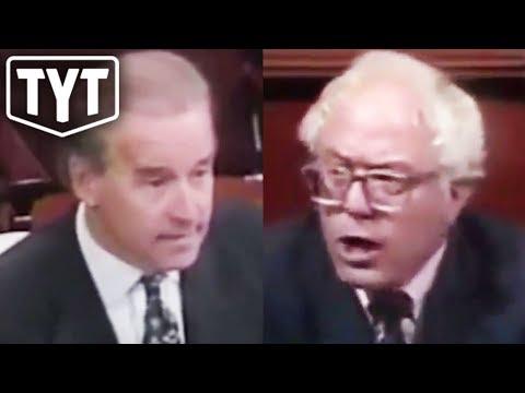 Bernie Schools Biden In The 90s