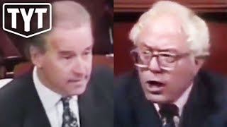 Bernie Schools Biden In The 90s