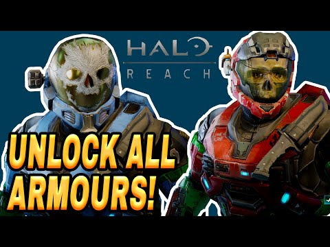 Halo Reach PC How To Unlock ALL Armor MOD Tutorial (Get EVERYTHING)