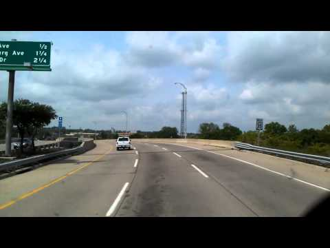 Rolling through Dayton, Ohio on US Highway 35 West