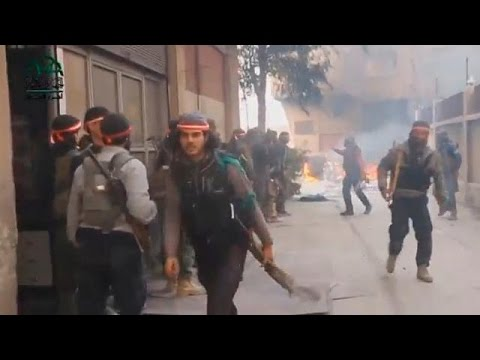 Syrien: Schwere Kämpfe im Osten von Damaskus
