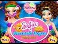 Sofia Mermaid - София Прекрасная Русалка делает макияж