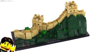 LEGO Architecture Great Wall of China review! 21041