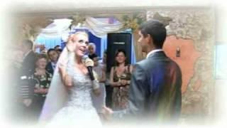 Свадебная песня в подарок любимому. Свадьба Андрея и Инны