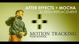 after effects tutorial screen replacement motion tracking w mocha