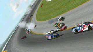 Nascar Racing 2002 Season - Crash Compilation