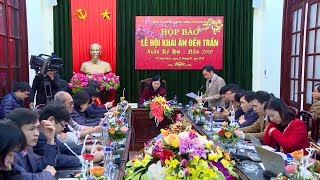 Công tác chuẩn bị cho Lễ khai ấn đền Trần 2019