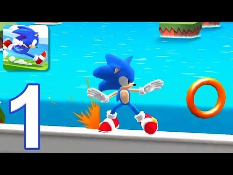 Sonic Runners Adventure - Gameplay Walkthrough Part 1 - Green Hill (iOS, Android)