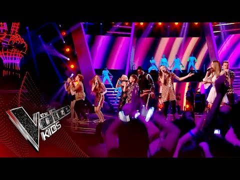 Finalists and Coaches Opening Performance | Live Final | The Voice Kids UK 2017