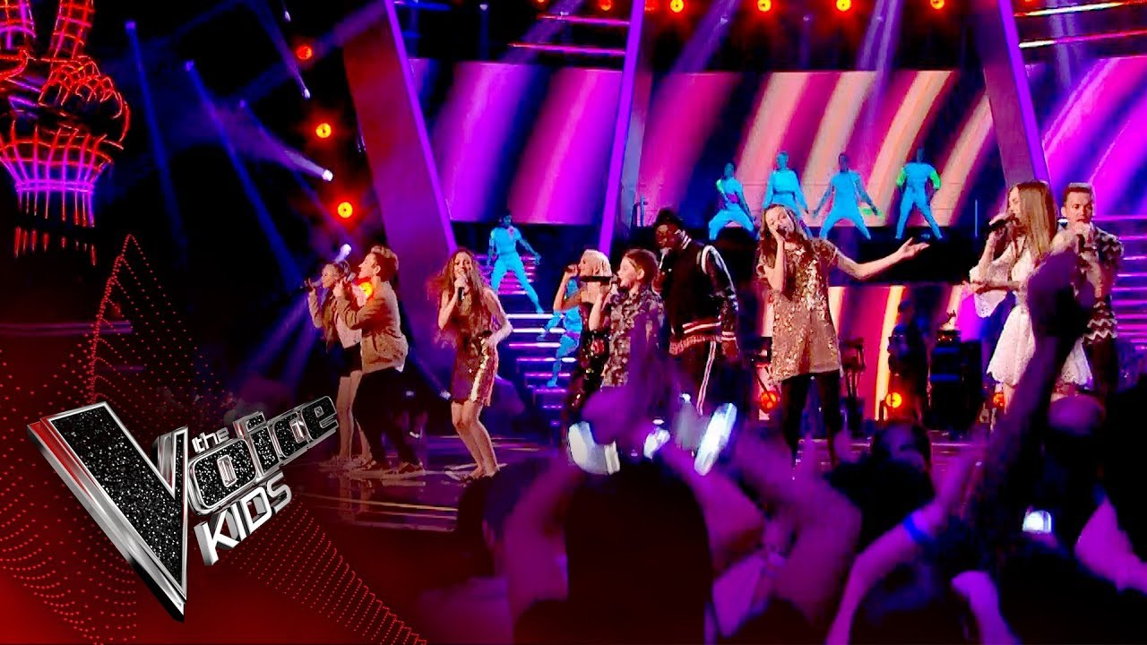 Finalists And Coaches Opening Performance Live Final The Voice Kids Uk 2017 Youtube