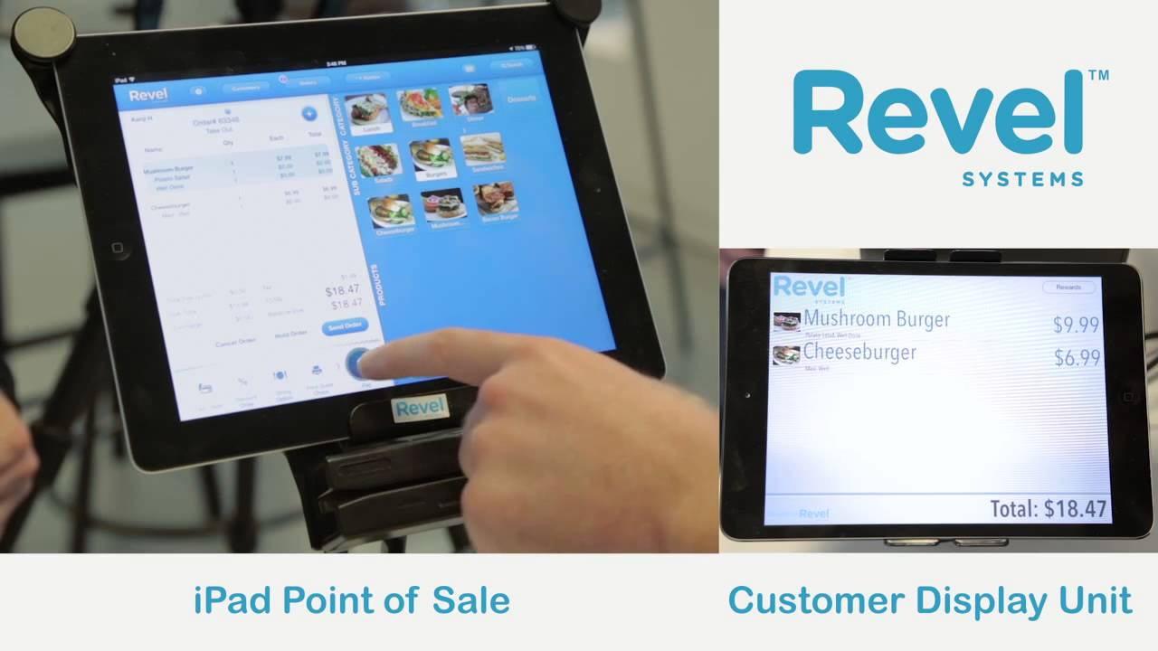 Revel iPad POS Customer Display Screen Demo
