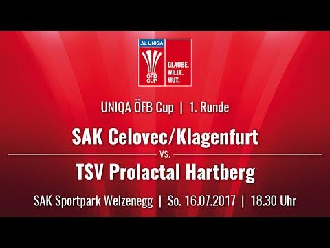 16.07.2017 / 18:30 Uhr SAK Celovec/Klagenfurt (SAK) vs. TSV Prolactal Hartberg (HAR)