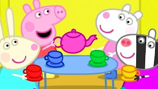 Kids TV and Stories | Dens - The Tea Party | Peppa Pig Full Episodes