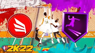 HOF LIMITLESS TAKEOFF BADGE GIVES UNLIMITED CONTACT DUNKS on NBA 2K22