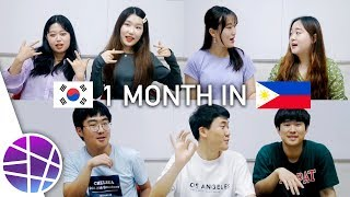 KOREANS AFTER 1 MONTH IN THE PHILIPPINES | EL's Planet