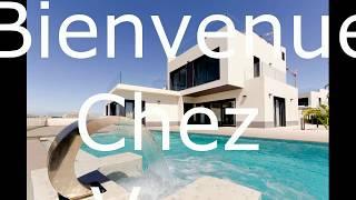 A vendre villa de luxe avec vue panoramique sur la mer sur la costa blanca en Espagne