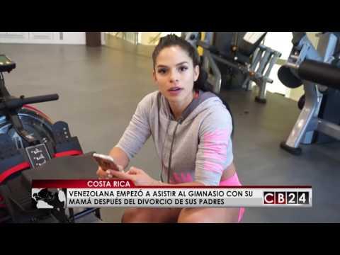 Fitness venezolana Michelle Lewin compartió sus secretos con Deportes CB24
