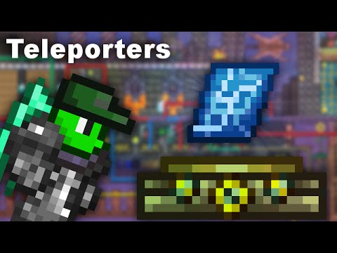 The Easiest Way To Set Up Teleporters Terraria Youtube (tips & tricks, 1.3 + console/mobile). the easiest way to set up teleporters terraria