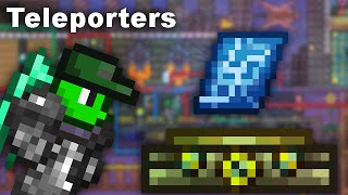 The Easiest Way To Set Up Teleporters Terraria Youtube For a rundown on how teleportation works, see the guide to teleportation. set up teleporters terraria