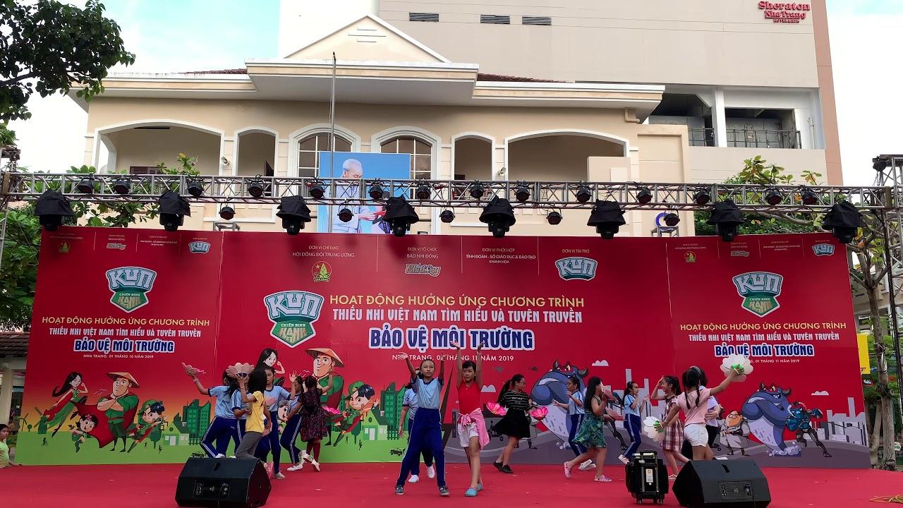Nhảy sửa Kun| Bảo vệ môi trường cùng Kun | Giao lưu Thơ Nguyễn